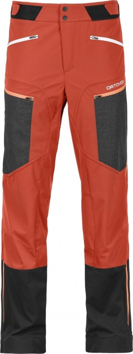 Ortovox Pordoi ski pants long crazy orange (men)