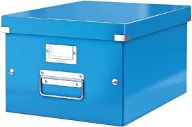 Leitz Click & Store WOW Aufbewahrungs- und Transportbox mittel, A4, blau (60440036)