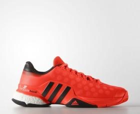 adidas Barricade 2015 Boost solar redcore blackwhite (Herren) (B33485) ab € 84,95