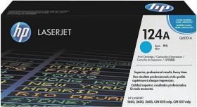 HP Toner 124A cyan (Q6001A)