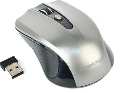 Gembird Wireless Optical Mouse 4B-04 grau/schwarz, USB (MUSW-4B-04-BG)