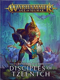 Games Workshop Warhammer Age of Sigmar - Battletome: Disciples of Tzeentch (DE) (04030201023)
