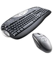 Logitech Cordless Desktop Optical, PS/2 & USB, DE (967091-0102/967231-0102)