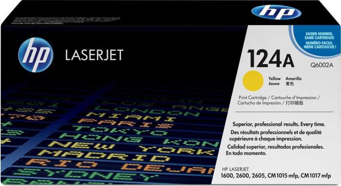 HP Toner 124A gelb (Q6002A)