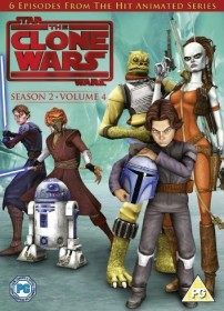 Star Wars: The Clone Wars Season 2.4 (DVD) (UK)