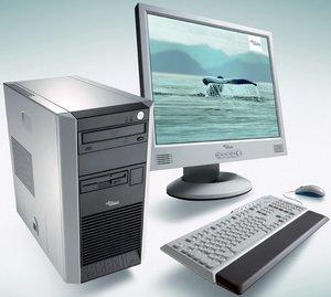 Fujitsu Scenic P320, Athlon 64 3200+, 160GB HDD (GER-678901-160)