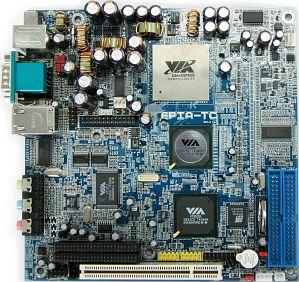 VIA (VPSD) EPIA TC10000, mini-ITX (SO-DDR)