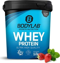 BodyLab24 Whey Protein Erdbeer 1kg