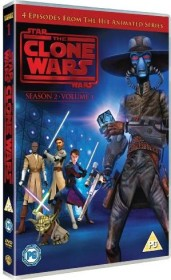 Star Wars: The Clone Wars Season 2.1 (DVD) (UK)