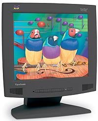 "ViewSonic VE170mb, 17"" TFT, 1280x1024, schwarz"