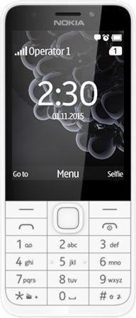 Nokia 230 Dual-SIM weiß/silber