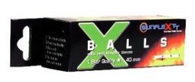 Sunflex Tischtennisbälle 1*, 3 Stück (31301)