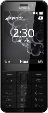 Nokia 230 Dual-SIM black/silver