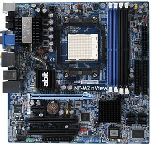 ABIT NF-M2 nView, GeForce 6150/MCP430 (dual PC2-6400U DDR2)