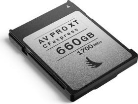 Angelbird AV PRO CFexpress XT R1700/W1500 CFexpress Type B 660GB, 4er-Pack (AVP660CFXXTX4)