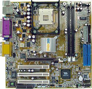 VIA (VPSD) P4MA Pro, P4M266, audio, VGA, LAN (DDR)