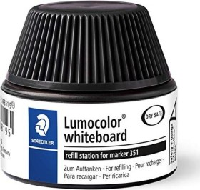 Staedtler Lumocolor 488 51 Whiteboardmarker Nachfüllstation schwarz (488 51-9)