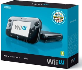 Nintendo Wii U Premium Pack - 32GB schwarz