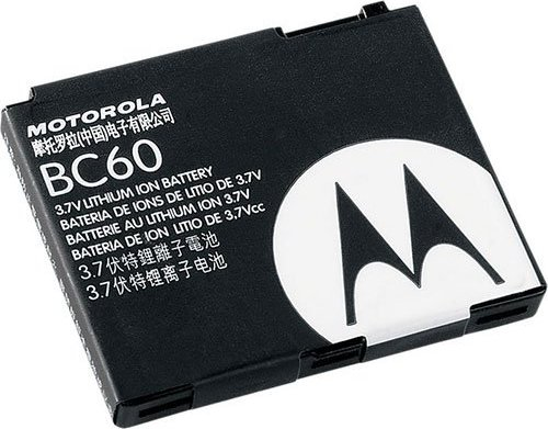 Motorola BC60 rechargeable battery