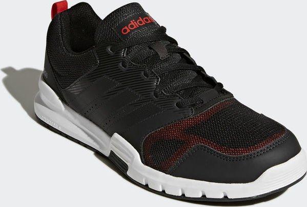 adidas Essential Star 3 carboncore blackhi res red (Herren