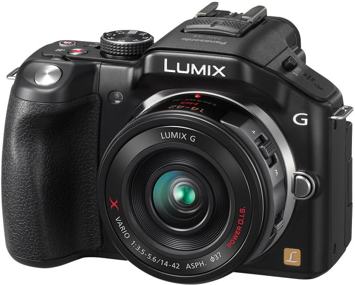 Panasonic Lumix DMC-G5 (EVIL) black with lens Lumix G X vario PZ 14-42mm 3.5-5.6 OIS (DMC-G5X)