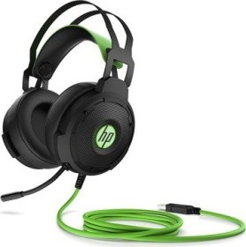 HP Pavilion Gaming headset 600 black/green (4BX33AA)