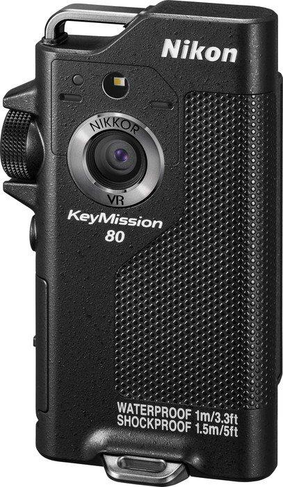 Nikon KeyMission 80 schwarz (VNA990E1)