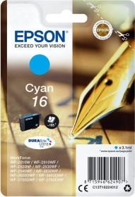 Epson Tinte 16 cyan (C13T16224010)