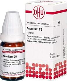 DHU Aconitum C5 Tabletten, 80 Stück