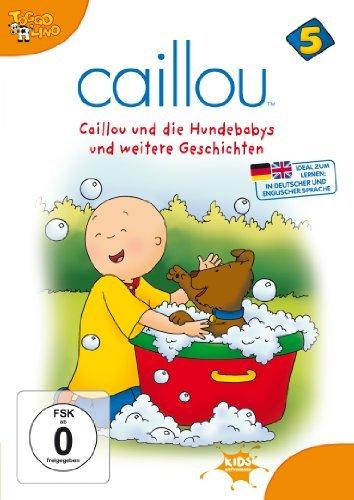 Caillou Vol. 5: Die Hundebabys und weitere Geschichten -- via Amazon Partnerprogramm