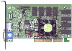 Shuttle GF48, GeForce2 MX400, 64MB, TV-out, AGP