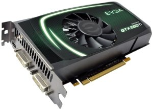 EVGA GeForce GTX 550 Ti, 2GB GDDR5, 2x DVI, Mini HDMI (02G-P3-1559)