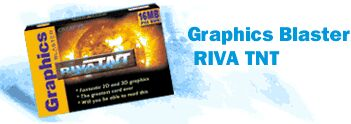 Creative Graphics Blaster Riva TNT AGP retail