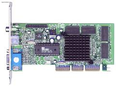 Shuttle GF22, GeForce2 MX200, 32MB, TV-out, AGP