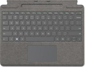 Microsoft Surface Pro X/Pro 8 Signature Keyboard Platin, UK (8XA-00063)