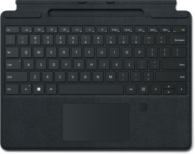 Microsoft Surface Pro X/Pro 8 Signature Keyboard schwarz, mit Fingerabdruck-ID, UK (8XF-00003 / 8XG-00003)