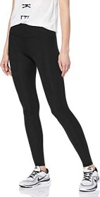 Nike One Luxe Laufhose lang black/clear (Damen) (AT3098-010)