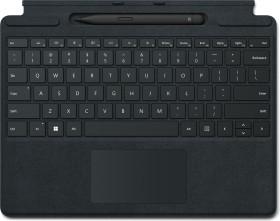 Microsoft Surface Pro X/Pro 8 Signature Keyboard schwarz, Surface Slim Pen 2 Bundle, UK (8X6-00003)