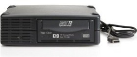 HP StorageWorks DAT 72e, 36/72GB, external/USB 2.0 (DW027A)