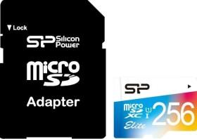 Silicon Power Elite R85 microSDXC 256GB Kit, UHS-I U1, Class 10 (SP256GBSTXBU1V20SP)