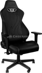 Nitro Concepts S300 EX Stealth Black Bürostuhl, schwarz (NC-S300EX-B)