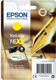 Epson Tinte 16XL gelb (C13T16344010)