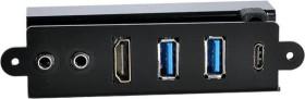 Lian Li PW-IC2DAH85, 1x USB-C 3.1, 2x USB-A 3.0, 1x HDMI, 2x Klinke, Multifunktionspanel