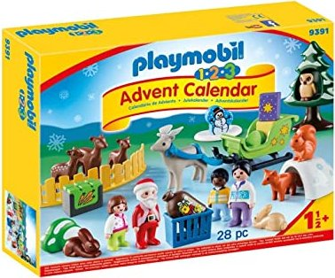 playmobil Christmas - Advent Calendars 1.2.3 Waldweihnacht the animals (9391)