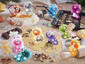 Ravensburger Puzzle Gelinis Weihnachtsbäckerei (16713)