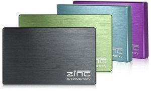 CnMemory Zinc black 320GB, USB 2.0 (65080)