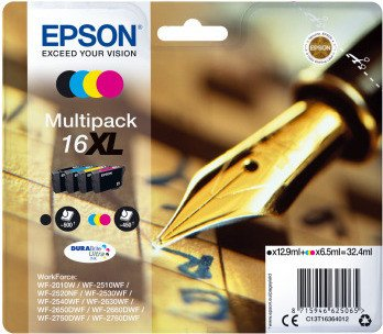 Epson ink 16 XL multipack (C13T16364010)