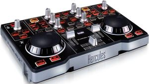 Hercules DJ Control MP3 e2 DJ-Software-Controller, USB (4780583)