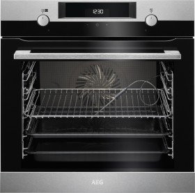AEG Electrolux BCK456220M oven with steam support