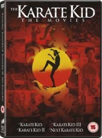 Karate Kid 1-4 Box Set (UK)